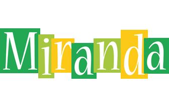 Miranda lemonade logo