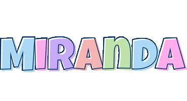 Miranda pastel logo