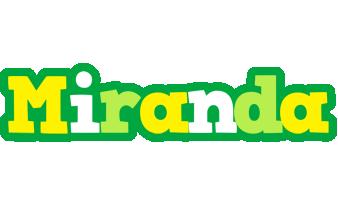 Miranda soccer logo