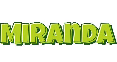 Miranda summer logo