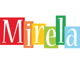 Mirela colors logo