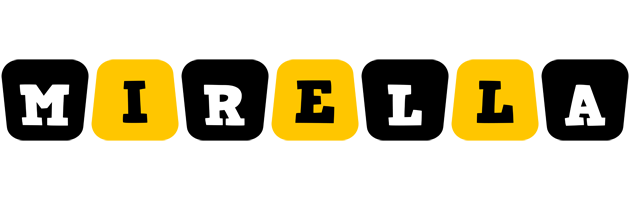 Mirella boots logo