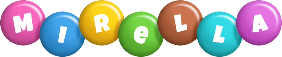 Mirella candy logo