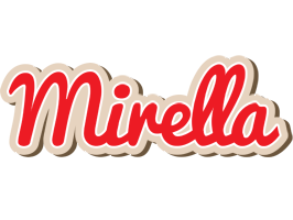 Mirella chocolate logo