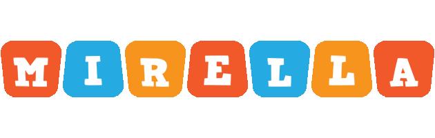 Mirella comics logo
