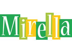Mirella lemonade logo