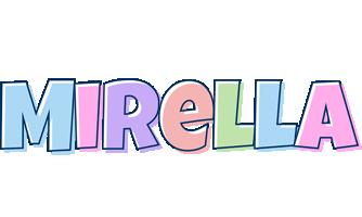 Mirella pastel logo