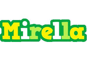 Mirella soccer logo