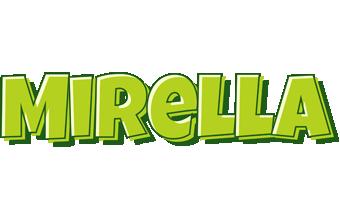Mirella summer logo