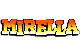 Mirella sunset logo