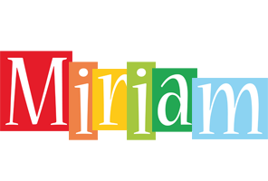 Miriam colors logo