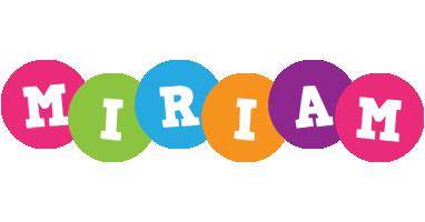 Miriam friends logo