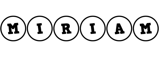 Miriam handy logo
