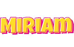 Miriam kaboom logo