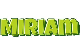 Miriam summer logo