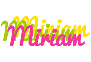 Miriam sweets logo