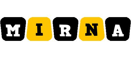 Mirna boots logo