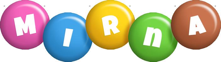 Mirna candy logo