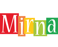 Mirna colors logo