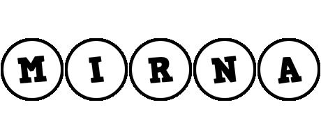 Mirna handy logo