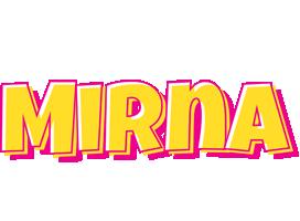 Mirna kaboom logo