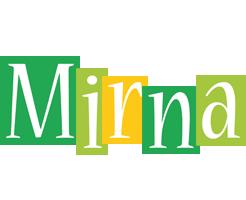 Mirna lemonade logo