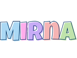 Mirna pastel logo