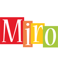 Miro colors logo