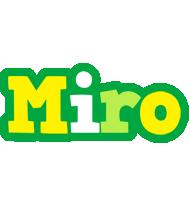 Miro soccer logo
