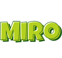 Miro summer logo