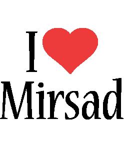 Mirsad i-love logo