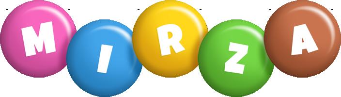 Mirza candy logo