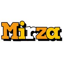 Mirza cartoon logo