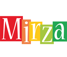 Mirza colors logo