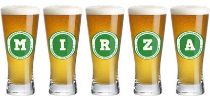 Mirza lager logo