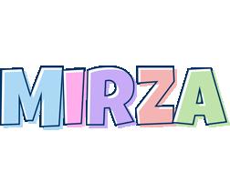 Mirza pastel logo