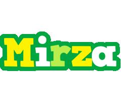 Mirza soccer logo