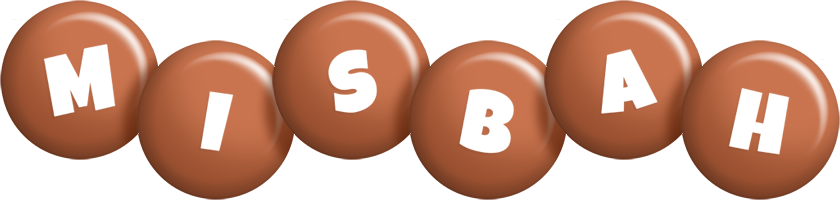 Misbah candy-brown logo
