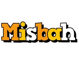 Misbah cartoon logo