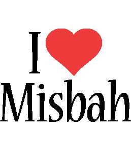 Misbah i-love logo