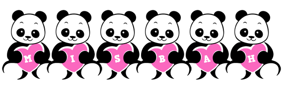 Misbah love-panda logo
