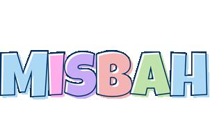 Misbah pastel logo