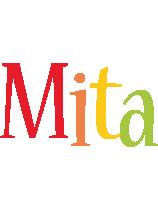 Mita birthday logo