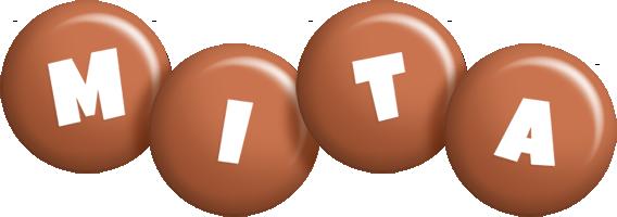Mita candy-brown logo
