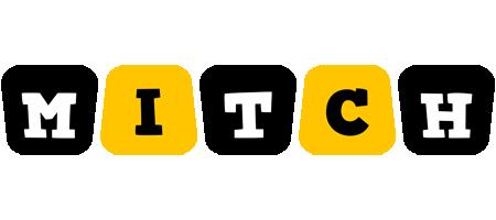 Mitch boots logo