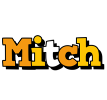 Mitch cartoon logo