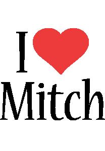 Mitch i-love logo
