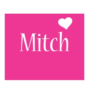 Mitch love-heart logo
