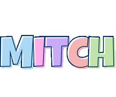 Mitch pastel logo