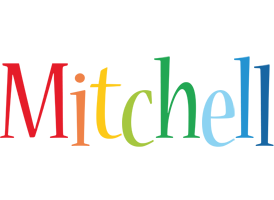 Mitchell birthday logo